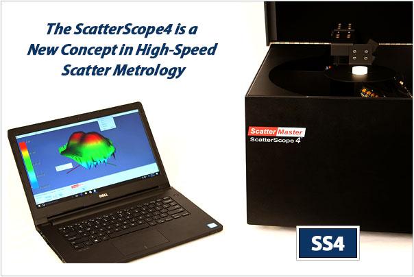 Scatterscope 4 scatterometer